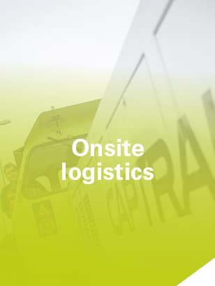 Captrain Europe onsite logistics